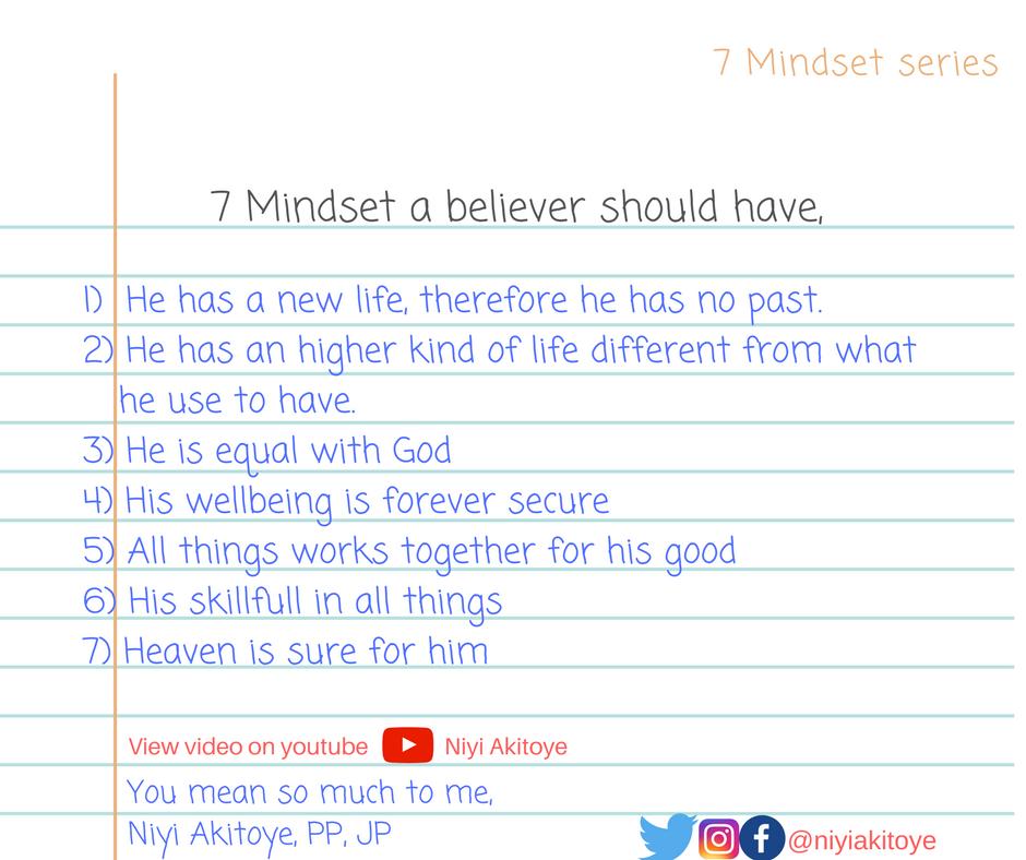 7 Mindset series